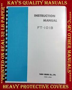 High-Quality-Yaesu-FT-101B-Instruction-Manual-C-MY-OTHER-MANUALS