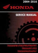 2004-2016 Honda TRX500 Foreman ATV Quad Service Repair Manual