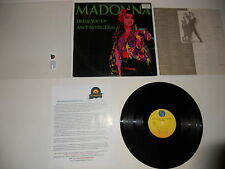 "Madonna Dress You Up/Shoo-Bee-Doo Japan 12"" Maxi 1984 4song Ultrasonic CLEAN"