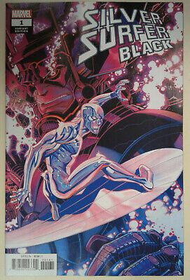 9.6-9.8 Silver Surfer Black # 4 Main Cover