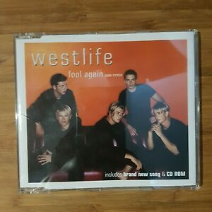 Westlife-Fool-Again-3-tracks-Made-in-EU