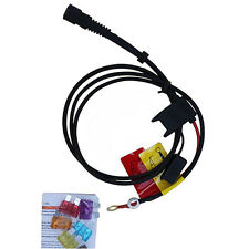 Gerbing 12V Battery Cable - for heated motorcycle clothing