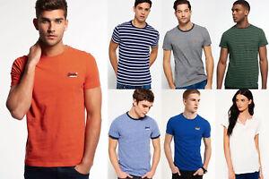 Neues-Superdry-fuer-Maenner-und-Frauen-T-shirts-Versch-Modelle-und-Farben-0510