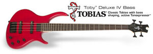 EPIPHONE TOBY deluxe BASS IV walnut BASSO ELETTRICO ,NUOVO!
