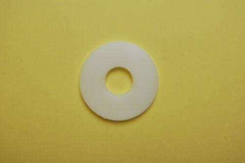 Unterlegscheiben DIN 9021//Kunststoff PA weiß natur M6