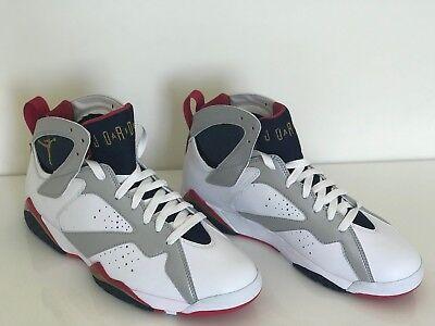 68a8013f11e420 Nike Air Jordan 7 Retro Olympic 2012 304775-135 size 8.5