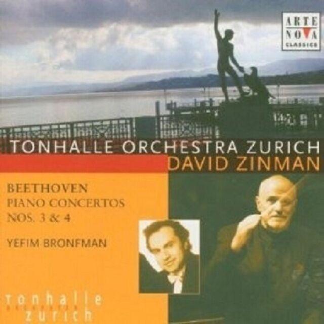 DAVID ZINMAN - KLAVIERKONZERTE 3 & 4  CD NEU