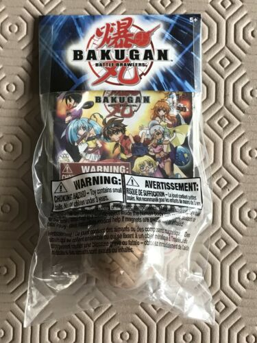 Bakugan Battle Brawlers Booster Pack Subterra by Sega Brand New and Sealed Promo