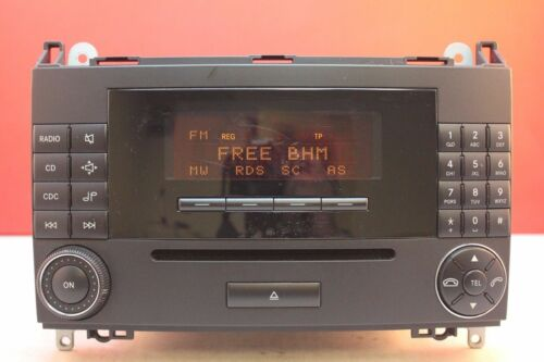 MERCEDES A B CLASS AUDIO 20 MF2550 CD RADIO PLAYER CAR STEREO DECODED W169 W245