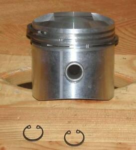 BSA B33 / M33 Piston +020. 1954-60. Made in Italy. 65-1662 - Pettenbach, Österreich - BSA B33 / M33 Piston +020. 1954-60. Made in Italy. 65-1662 - Pettenbach, Österreich