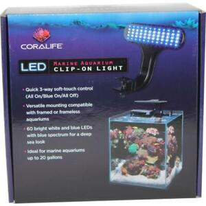 Coralife-LED-Clip-On-Marine-Light-Fixture-For-Tanks-Up-to-20-Gallons