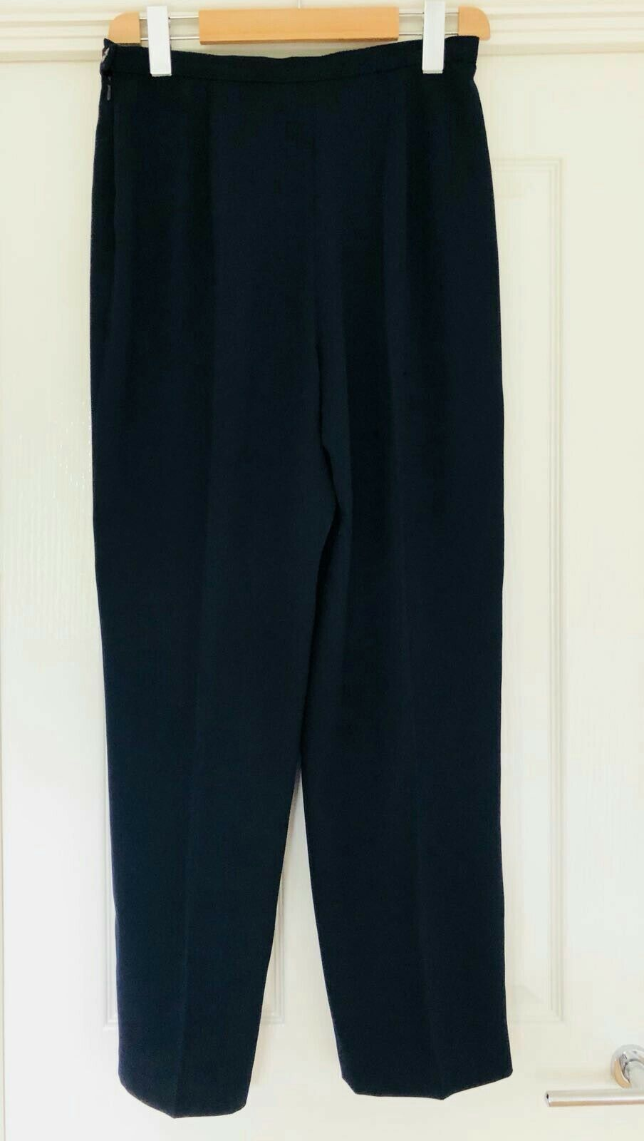 Jacques green smart navy three piece suit size size size 14 Pre owned 94f605