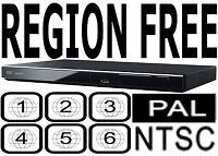 Panasonic All Region Code Free Dvd Player Plays Pal Ntsc Disc Dvd-s500