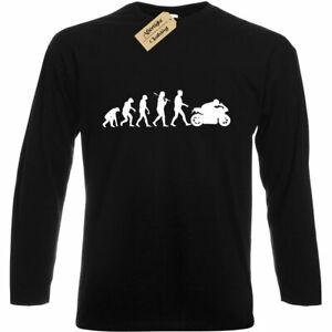 Evolution Of Motorbike T-Shirt cycle Rider Bike Biker Gift BIKE,TSHIRT