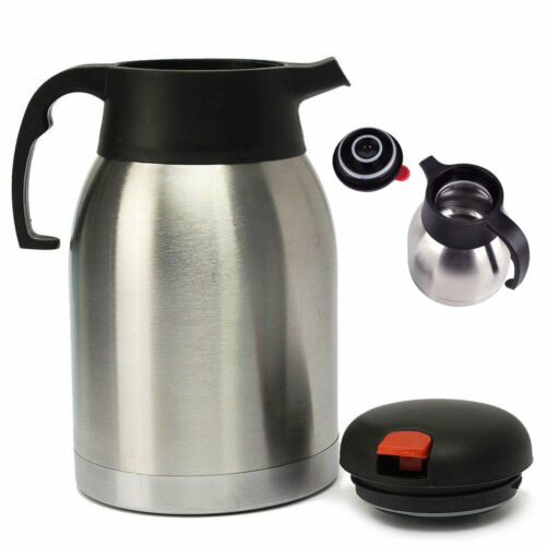 1.5L Thermos Flask Stainless Steel Hot Cold Double Wall Isolating Thermal Jug