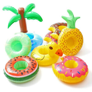 Pool-Water-Inflatable-Swim-Floats-Fruit-Cup-Holder-Drink-Holder-Party-Toy-Boat