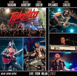 Tyketto-Live-In-Milan-2017-New-CD-With-DVD-Digipack-Packaging