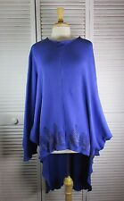 Clarity Tunic  Blueberry Waffle Thermal w/ Forest Art  XL by Blue Fish Red Moon