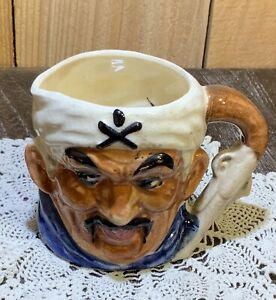 Vintage USA Jolly Roger Pirate Mug Coffee Cup