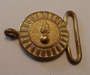 plus de photos grosses soldes haut fonctionnaire Détails sur militaria boucle de ceinture militaire grenade napoleon