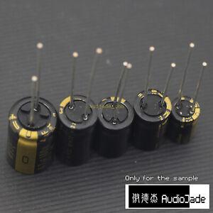 6 pcs Nichicon FG Capacitors 25V 470uf Audio Grade