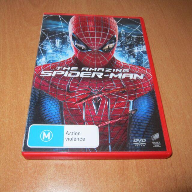 THE AMAZING SPIDER-MAN ( DVD , REGION 4 )