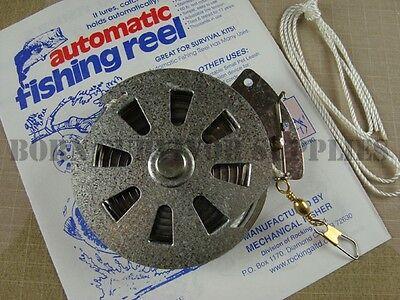Romantico Yo-yo Mechanical Automatic Mulinello Da Pesca Sopravvivenza Bushcraft Kit Yoyo Fisher Rullante- I Clienti Prima Di Tutto