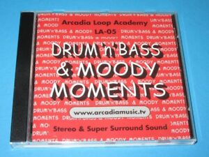 Sol-Waters-Drum-039-n-039-Bass-Moody-Moments-Arcadia-Loop-Academy-Surround-CD