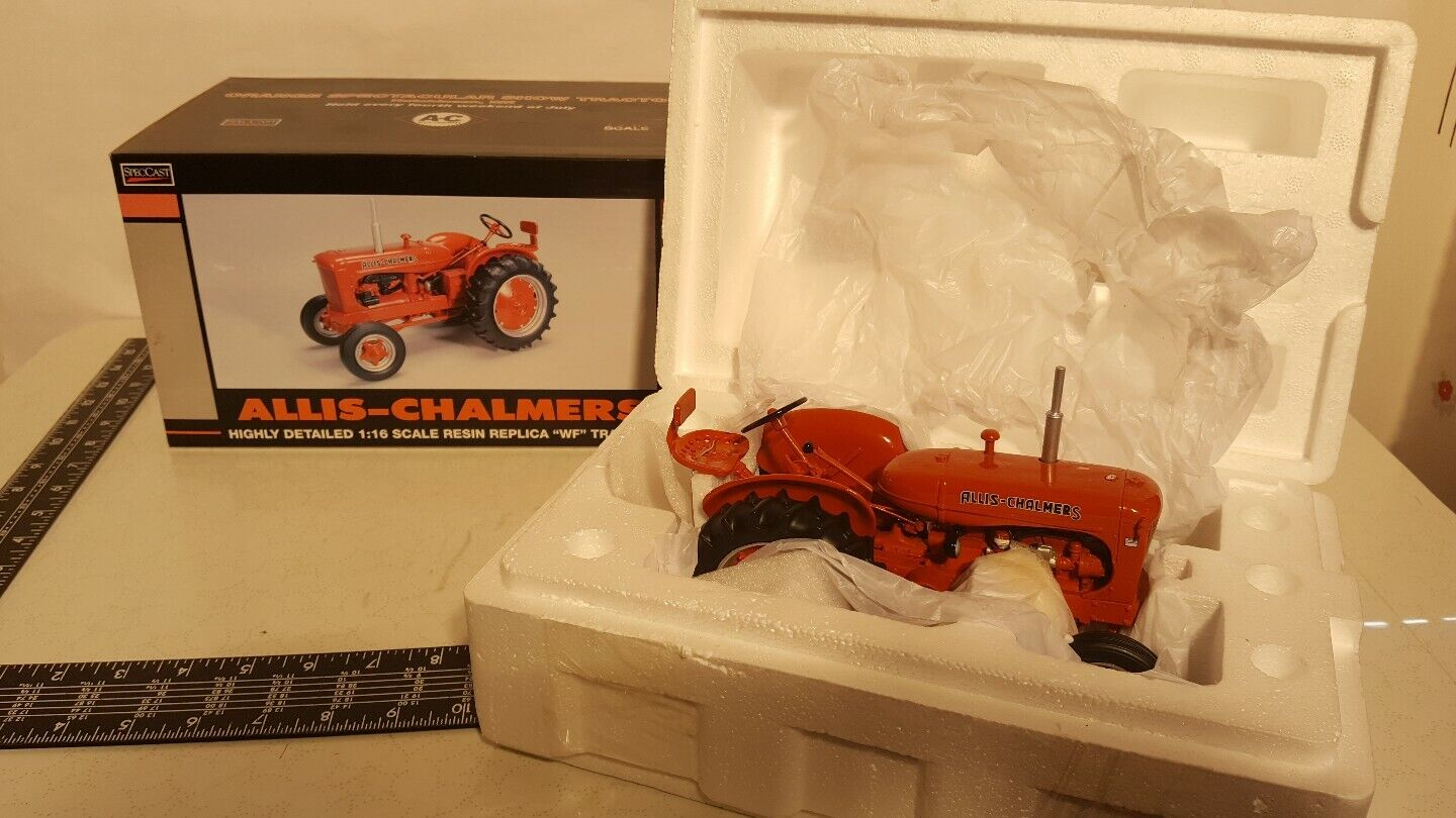 Allis Chalmers WF 1   16 Agricultural tractor replies available from specscast