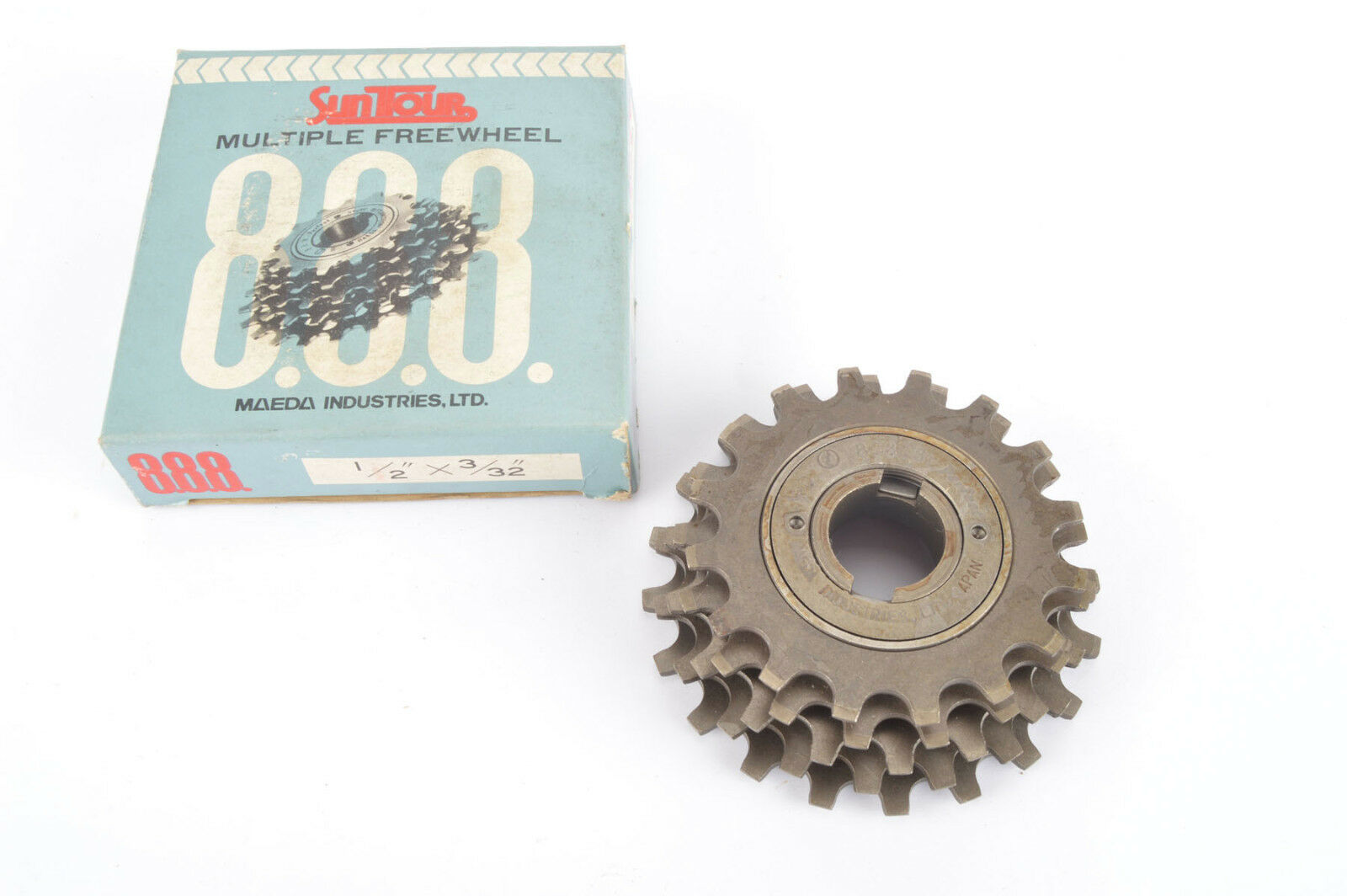 NEW Suntour Perfect 5-speed Freewheel with 16-20 teeth from the 1980s NOS NIB