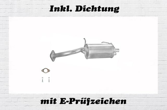 Nissan Micra II 1.0 1.3 1.4 40/44/55/60KW Endschalldämpfer Auspuff Dichtung