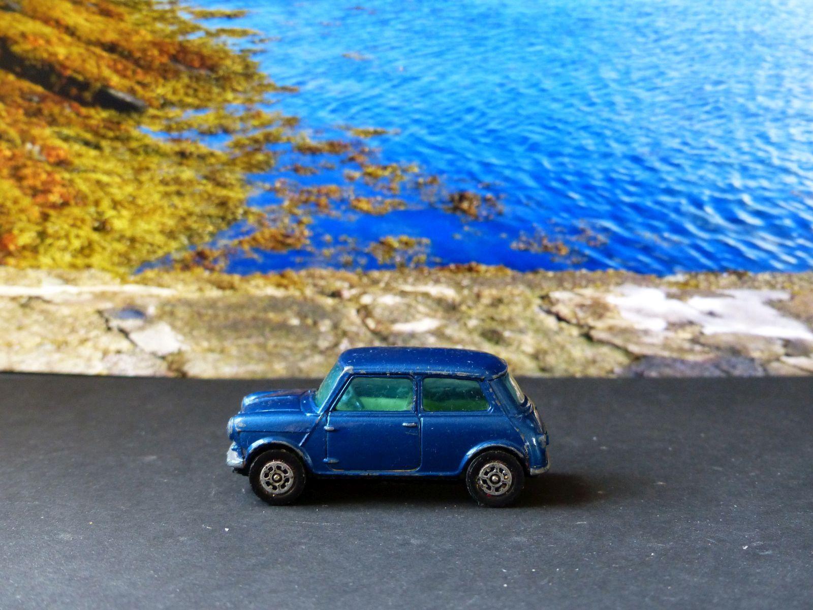 punto de venta en línea Corgi Juguetes Juguetes Juguetes 204 Morris Mini Minor azul con cristales tintados  varios tamaños