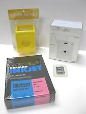 Superheadz Sun & Cloud solar digital camera White +2GB SD card+Yellow Case+Paper