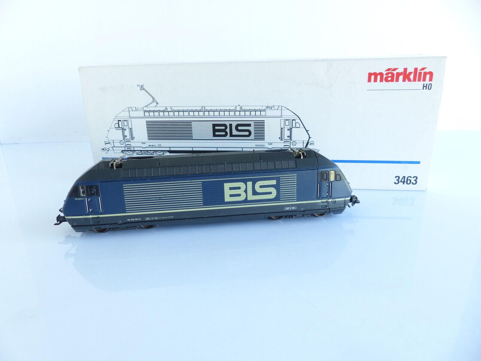 Marklin 3463 electric locomotive re 465 001-6 bls