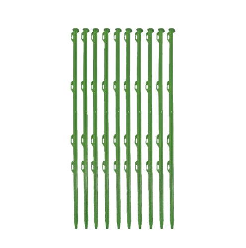Weidezaun Starterset plus 230V von Ellofence Kleintier mit Pfählen und 200m Band