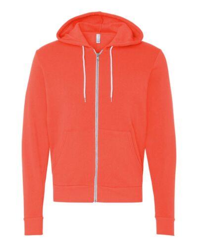 Canvas Hooded Full-Zip Sweatshirt Bella 3739