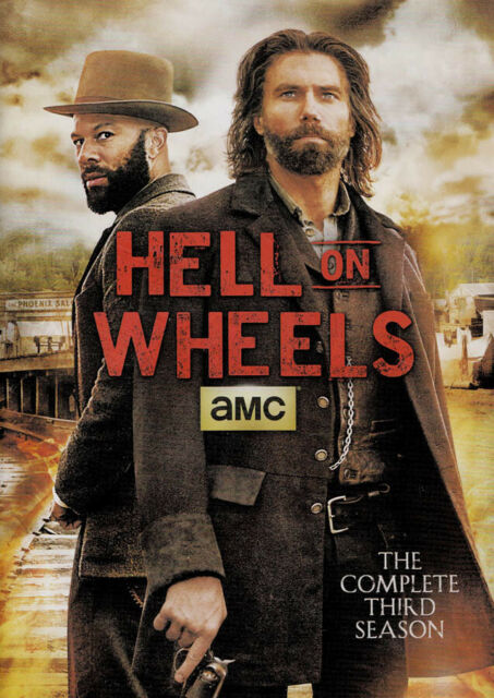 HELL ON WHEELS - THE COMPLETE SEASON 3 (DVD)