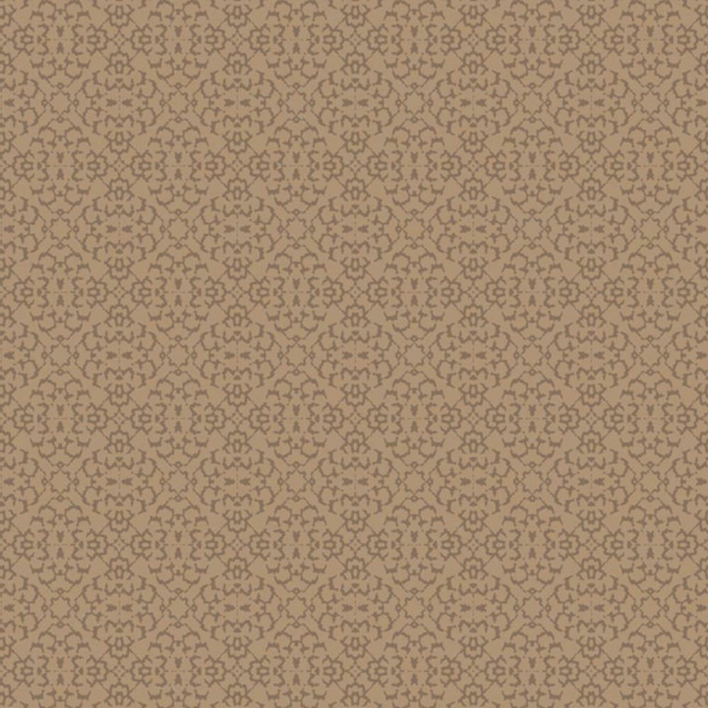 SL00813 - Sloane Floral Diamond Copper Sketchtwenty3 Wallpaper