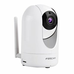 Foscam-R4-4MP-Ultra-HD-Pan-Tilt-Wireless-Indoor-IP-Camera-White-CCTV-Smartphone
