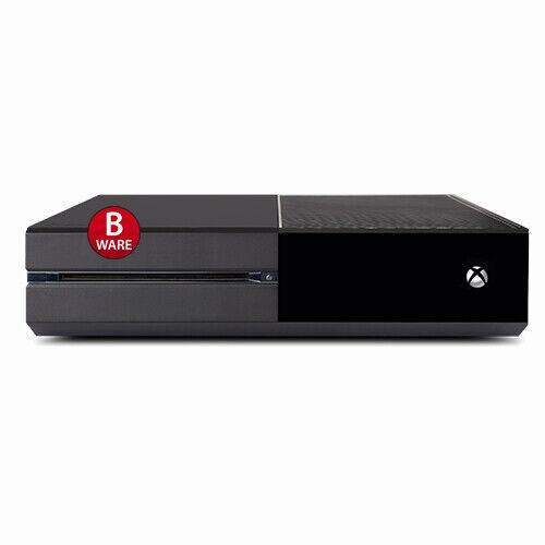 Xbox Uno Consola con 500GB (Mercancía B) #50B sin Cable Todo Negro - Repuesto