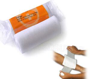 3x Stérile Hse Pansement-haute Qualité-petite Taille-first Aid, Marquage Ce-afficher Le Titre D'origine
