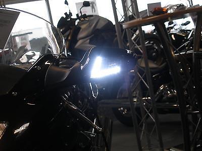 Weisse LED Blinker Frontblinker mit Standlicht Honda CBR 1100 XX Blackbird