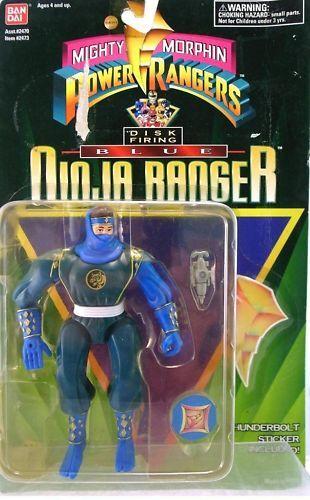 Vintage Original BILLY Blue Power Ranger Action Figure MOC