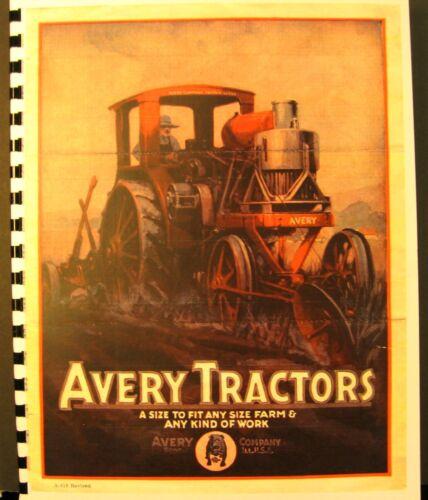 Avery Tractors Sales /& Information Manual Tractors-Cultivators-Threshers-Trucks