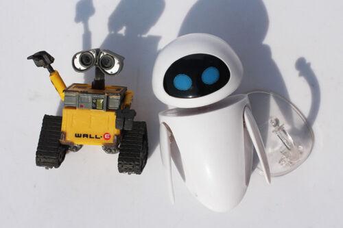 Wall-E Robot Wall E /& EVE PVC Action Figure Collection Model Toys Free Shipping