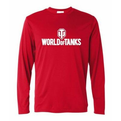 World OF Tanks Sweatshirts Long Sleeve T-Shirt Men Autumn Winter Cotton Clothing