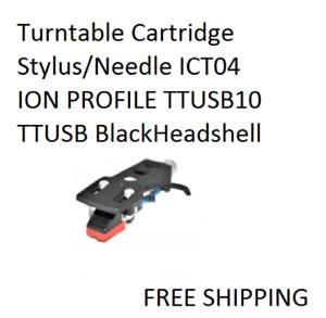 BRAND NEW IN BOX NEEDLE STYLUS FOR ION TURNTABLE ION-ITTUSB ITTCD-10