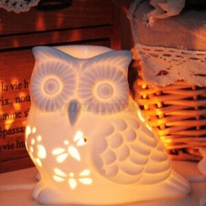 Keramik Duftlampe Schmelzen Wachs Wärmer Diffusor Teelicht Kerzenhalter Hohl D