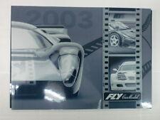 FLY CAR MODEL - CATALOGO GENERALE 2003