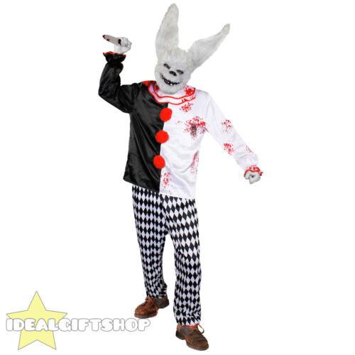 Animal tueur costume de clown halloween fancy dress costume et masque cirque evil